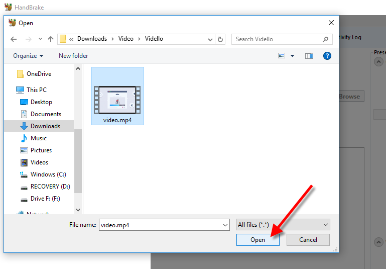 Compress Video Using HandBrake - VIDELLO
